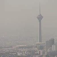 هوای پایتخت همچنان ناسالم است