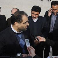 بازدید وزیر بهداشت از مراکز درمانی هویزه، سوسنگرد و حمیدیه