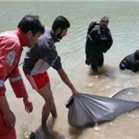 بیرونکشیدن جسد از آب شرب ماهشهر