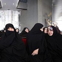 عکس/همسران روحانی و وزیر بهداشت در برج میلاد
