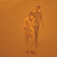 ريزگردها ي سيستان و بلوچستان 80 برابر استاندارد