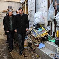 عکس/بازدید مسجد جامعی از شرایط اسفبار خانه های کارگران در تهران