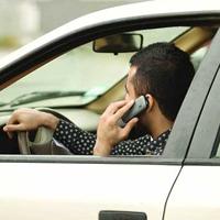 تلفن همراه علت اصلی تصادفات