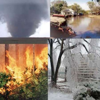 ۱۴۰ میلیارد دلار خسارت بلایای طبیعی در سال گذشته