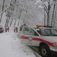 نجات 14 هزار مسافر نوروزی از برف/ نجات خانواده شیرازی از یخزدگی