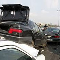 تصادف 18 خودرو در بزرگراه کرج- قزوین/ 21کشته و 131مجروح در 26تصادف