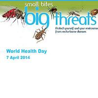 «گزیدگی کوچک، تهدید بزرگ»، شعار روز جهانی سلامت