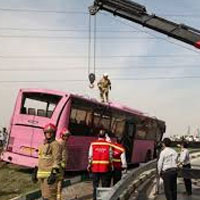 روایت شاهدان عینی از حادثه در بزرگراه آزادگان