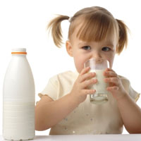 مواد غذایی سرشار از کلسیم برای کودکان