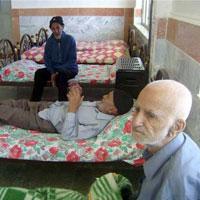 روزی برای پدرانی که در خانه سالمندانند