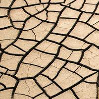 عکس/سونامي خاموش خشکسالی در قلب قنات ها