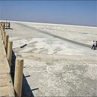 دریاچه ارومیه خشکتر میشود