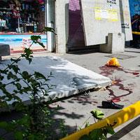 شوک خیابانی در تبریز/چرا بلوک سیمانی شهرداری ایمنی نداشته است؟