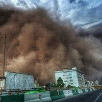 پاسکاری مسئولیت توفان تهران