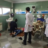 عکس/با اجرای طرح تحول سلامت بیماران روی زمین درمان می شوند!