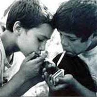 کاهش شدید سن مصرف سیگار در 5 سال گذشته