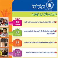 در ماه رمضان به جمع حامیان برنامه جهانی غذا بپیوندید