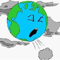 آلودگی هشداردهنده از آسمان تا زمین