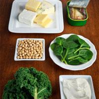خوردنیهای تقویتکننده استخوانها