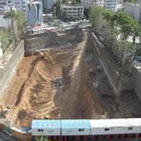 تخریب باغ دیگری در پایتخت برای ساخت مجتمع تجاری