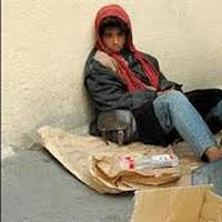 """پدیده هولناکی به نام """"کودکان کارتن خواب"""" در تهران"""