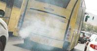 اتوبوس ها، 50 برابر حد مجاز، گوگرد وارد هوای تهران می کنند