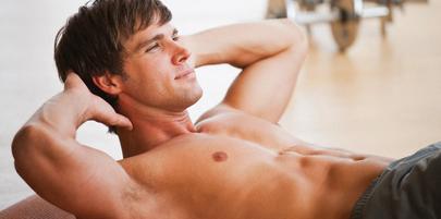 تمریناتی که بر روی ناحیه شکم متمرکز است مانند دراز و نشست بیشتر به کوچک کردن شکم کمک میکند