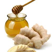 تسکین حملات آسم با مصرف عسل و زنجبیل