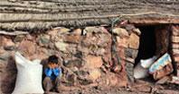 نمودار/سکونت ١٠٩هزارخانوار ایرانی در چادر، زاغه، کپر