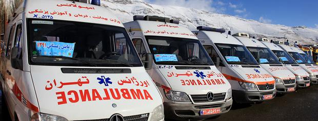 وقتی تمام آمبولانسهای کشور فرسوده است تنها سرم سرد مشکل ساز است؟