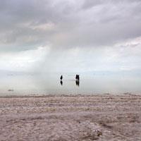 کاهش 90 درصدی سطح آب دریاچه ارومیه طی نیم قرن