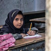 عکس/مدرسهای برای فراموش شدگان