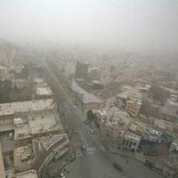 کرمانشاه دروازه ورود گردو غبار به کشور/افزایش شدید بیماران تنفسی