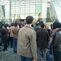 تجمع اپتومتریستها مقابل وزارت بهداشت