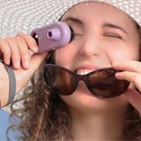 عکس/با دوربین UV میزان ضدآفتاب پوستتان را تخمین بزنید
