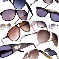 در زمستان، حتما عینک آفتابی بزنید!