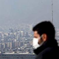 هوای تهران ناسالم است/ شاخص 134