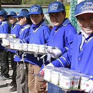 آغاز توزیع شیر رایگان از هفته آینده درمدارس تهران
