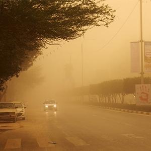 آخرین وضعیت مراجعه به بیمارستانهای اهواز به دلیل گرد و غبار