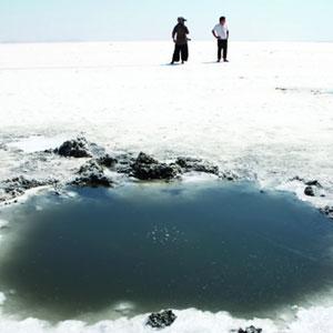 خشکسالی در بودجه دریاچه ارومیه