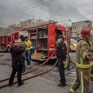 آتش افروزی مرد خشمگین پس از دعوا با همسرش/ سه نفر در آتش سوختند