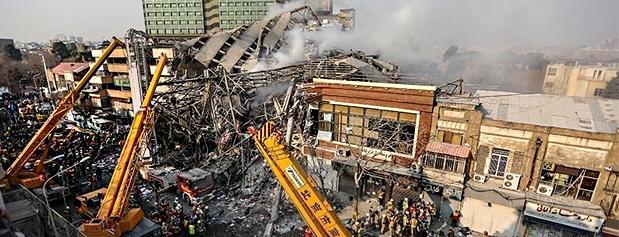 تجهیزات آتشنشانی تناسبی با خطرات احتمالی تهران ندارد