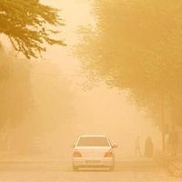 گرد و غبار استان کرمان را فرا گرفت
