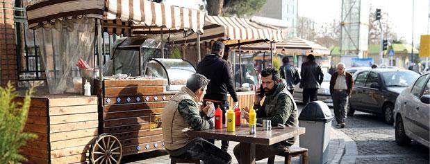 گزارشی از خیابان خوشمزه سیتیر تهران