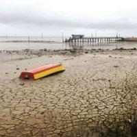 تالاب «میانکاله» در حال خشک شدن است