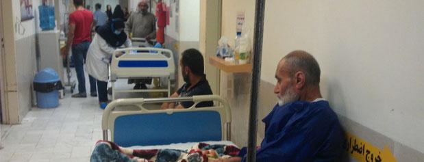 بیماران بدحال در اورژانسهای کشور در انتظار خالی شدن تخت/امکانات موجود جوابگوی نیازهای بیماران نیست