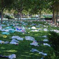 طبیعت در محاصره زبالههای پلاستیکی