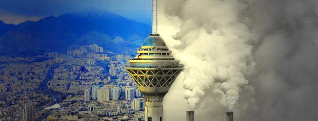 آلودگی هوای تهران ناشی از پیشسازهای ازن است نه نورخورشید!