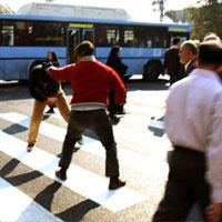 خشم و هیاهو در خیابان