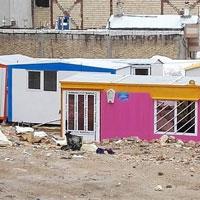 120 خانوار زلزله زده در سراب نیاز به کانکس دارند